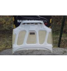 Capot fibre pour Citroën saxo VTS & kit car Ph1 & 2